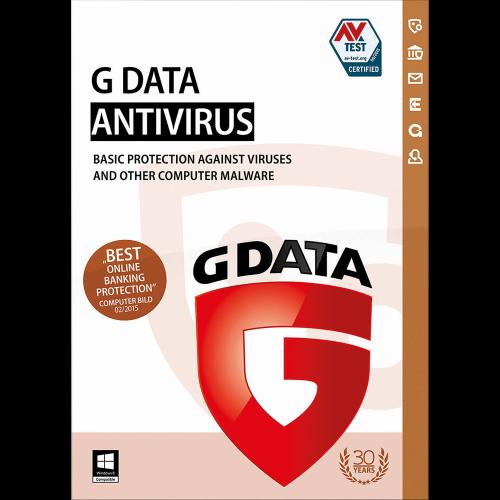 G Data AntiVirus - 1-Year / 1-PC - Global