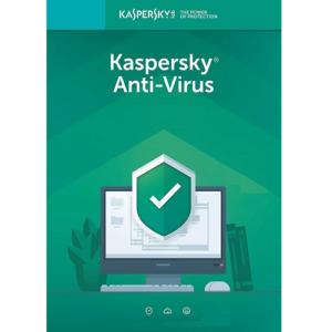 Kaspersky Anti-Virus 2019 - 1-Year / 1-PC - Americas