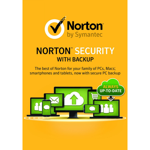 1-Year / 10-Device Norton Security Premium with Backup- United States & Canada